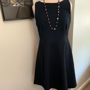 Loft Jacquard Knit Dress Size 8 (D)
